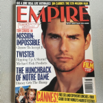 Empire Magazine August 1996 issue 86 Tom Cruise in Mission impossible